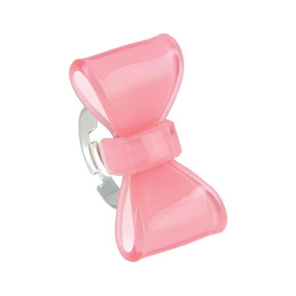 LUZAKA Prsteň DERBY ružový 034856