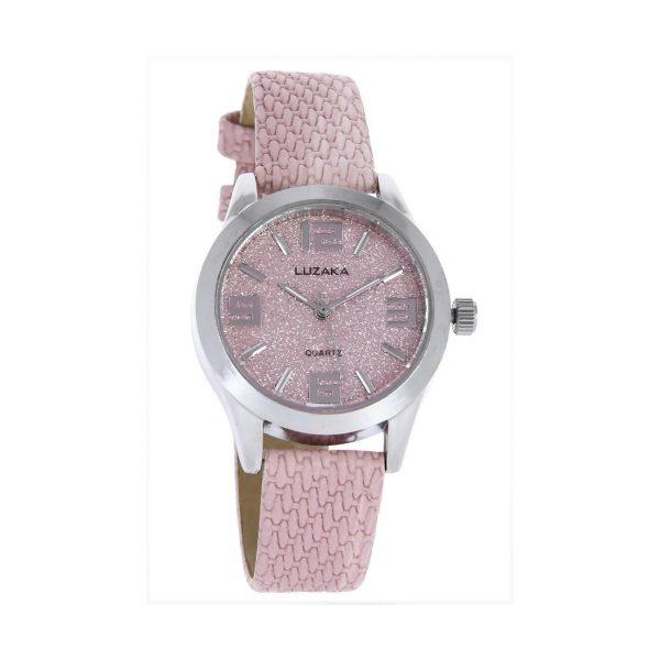 LUZAKA Dámske hodinky AVENUE ružové 048211