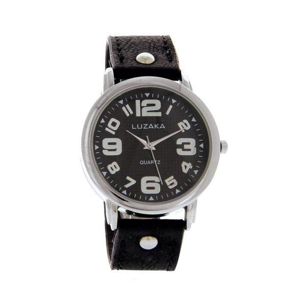 LUZAKA Dámske hodinky LOU čierne 047221