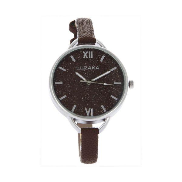 LUZAKA Dámske hodinky OLEO hnedé 048471