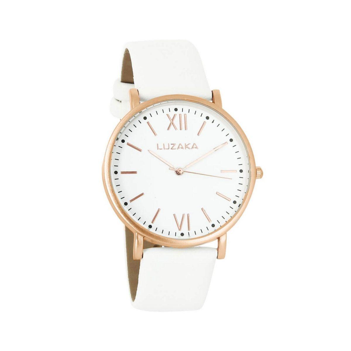 LUZAKA Dámske hodinky KIERO biele 048372