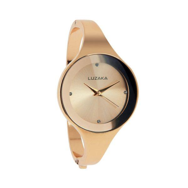 LUZAKA Dámske hodinky ALENA Ružovo-zlaté 033576