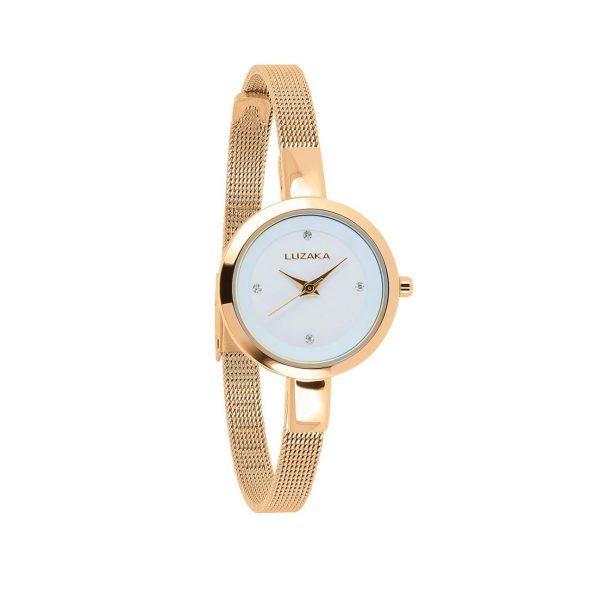 LUZAKA Dámske hodinky CASTILLE Ružovo-zlaté 033606